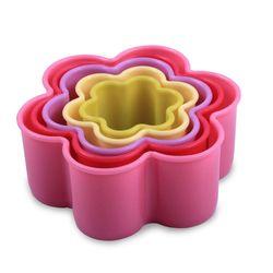 Jogo-5-Cortadores-Formato-Flor-Plastico-Colorido-KE-Home