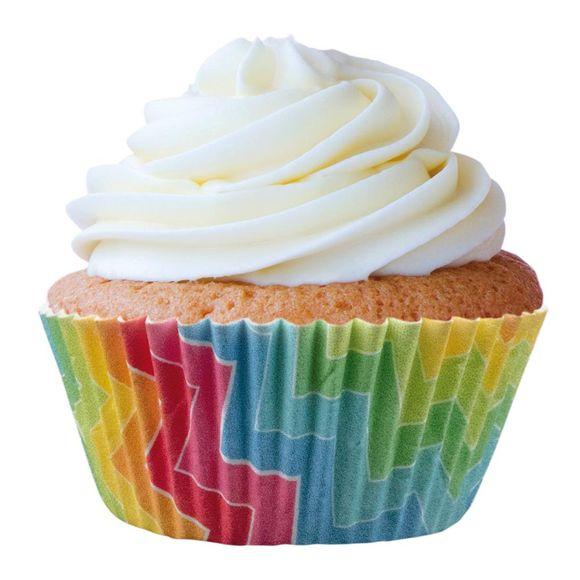 Forma-Greasypel-Mini-Cup-Cake-Arco-Iris-N.02-45-Unidade-Mago-7896301469973-6999