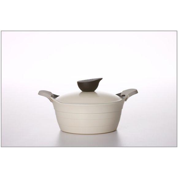CE-C24AB8809332232088Cacarola-24cm-Com-Revestimento-Ceramico-Bege-Neoflam