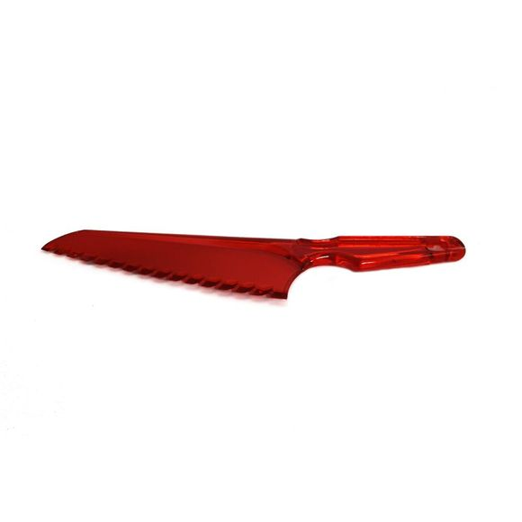 Faca-Plastica-30x6-cm-Vermelha-Basic-Kitchen