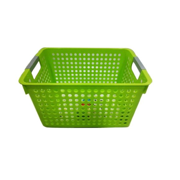 Cesta-Organizadora-Media-Basic-Kitchen-Verde