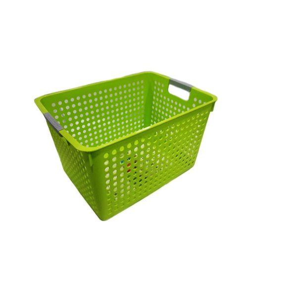 Cesta-Organizadora-Grande-Basic-Kitchen-Verde