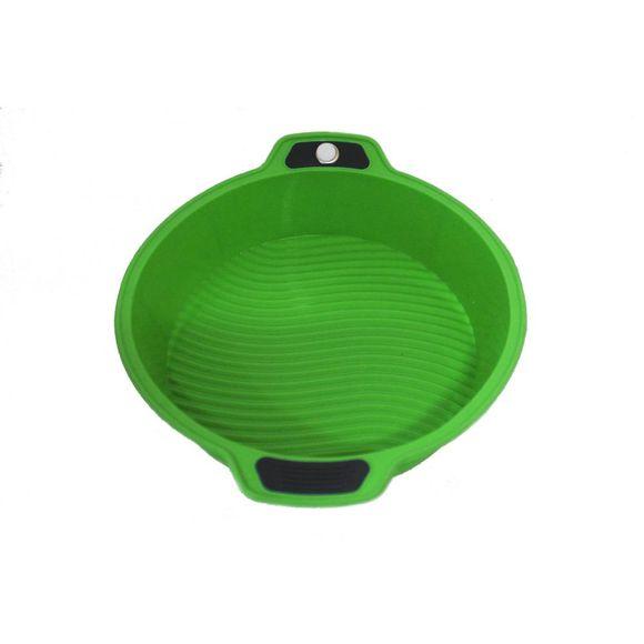 Forma-Redonda-Em-Silicone-63828-29X25X6Cm-Verde--Basic-Kitchen