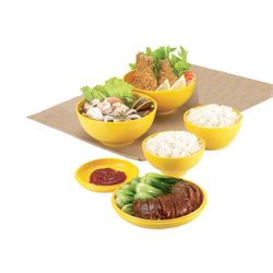 Kit-de-Bowl-Oriental-B914-Amarelo-Basic-Kitchen