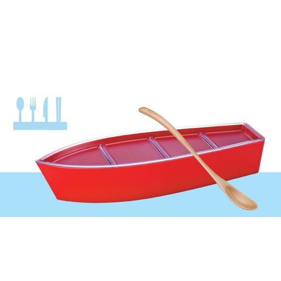 Porta-Talher-B933-Vermelho-Basic-Kitchen