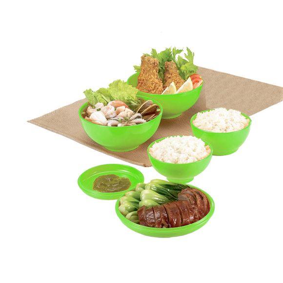 Kit De Bowl Oriental Verde Basic Kitchen