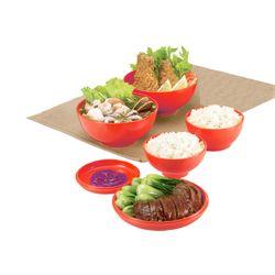 Kit-De-Bowl-Oriental-Vermelho-Basic-Kitchen