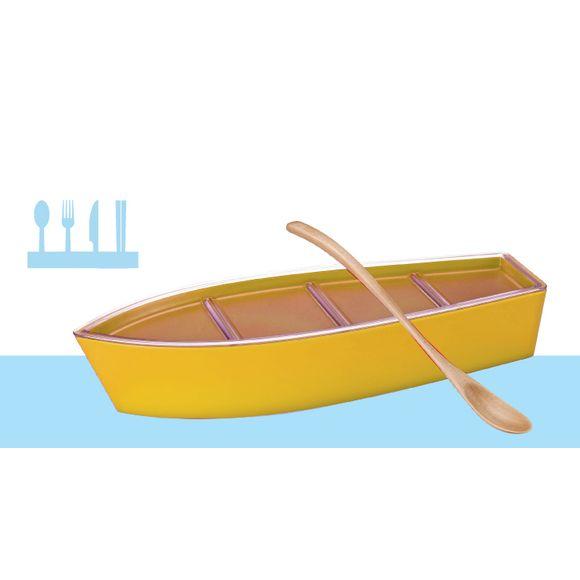 Porta-Talher-Amarelo-Basic-Kitchen