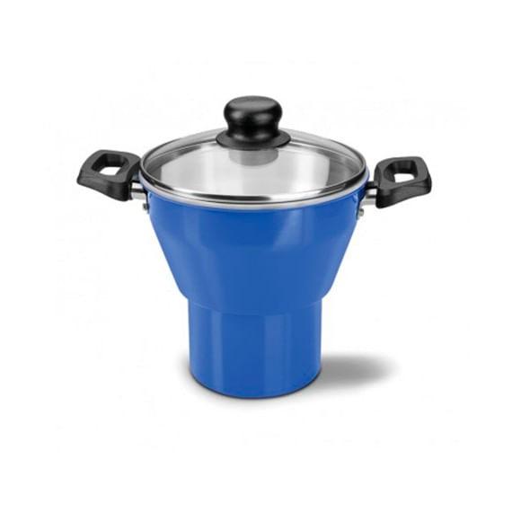 Cuscuzeira-Aluminio-16cm-Caribe-Azul-Tramontina