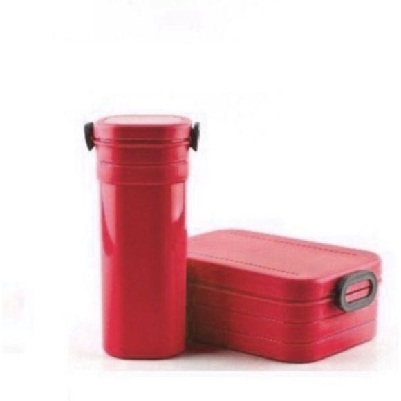 Pote-Quadrado-Com-Copo-Vermelho-Basic-Kitchen