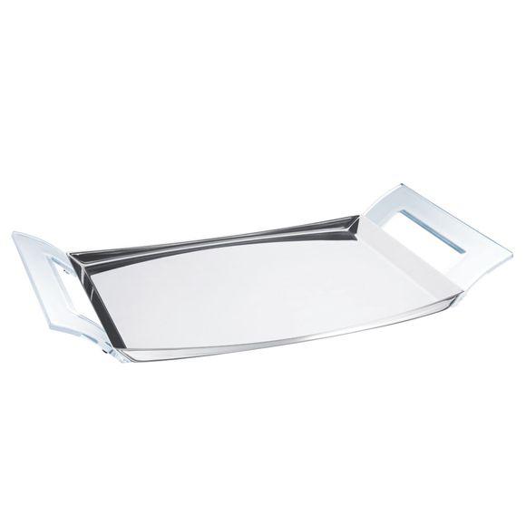Bandeja-de-aco-inox-Tramontina-com-alcas-de-acrilico-Transparente