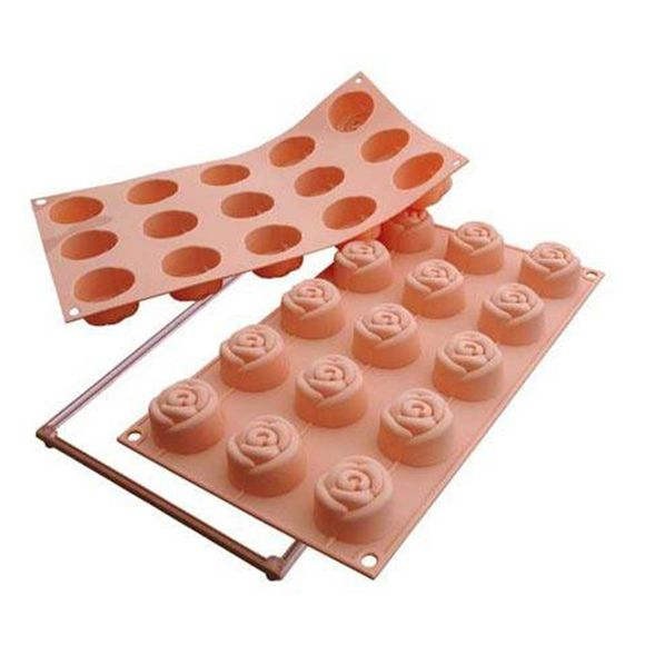 Forma-de-Silicone-Small-Rose-Silikomart-