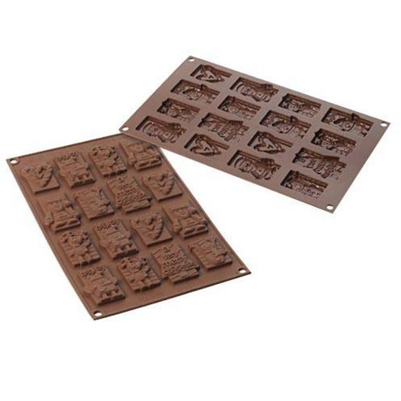 Forma-de-Silicone-Xmas-Choco-Tags-Silikomart