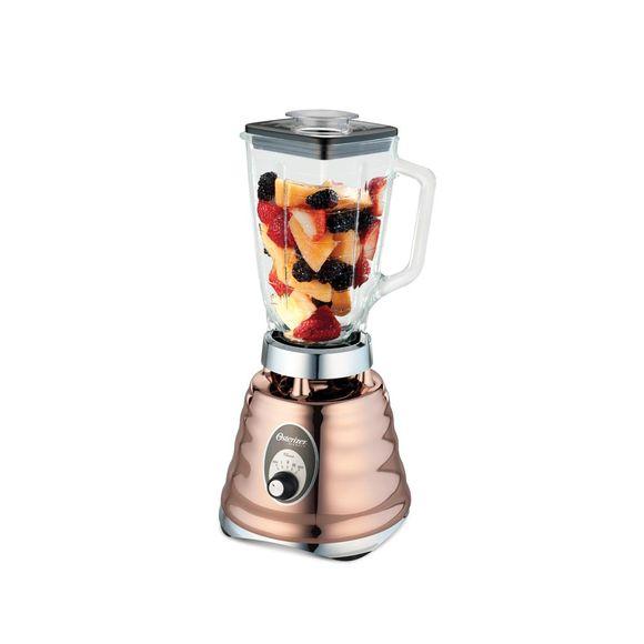 Liquidificador-Osterizer-com-jarra-de-vidro-Cobre-220V