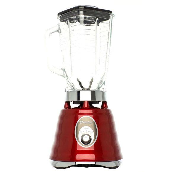 Liquidificador-Osterizer-com-jarra-de-vidro-Vermelho-220V