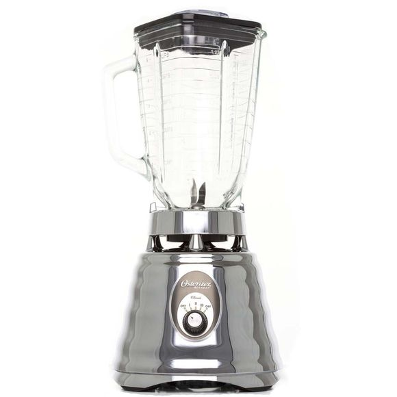 Liquidificador-Osterizer-com-jarra-de-vidro-Prata-220V