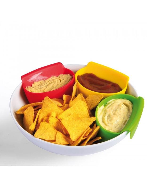 Conjunto Bowls Silicone 3 Peças Basic Kitchen