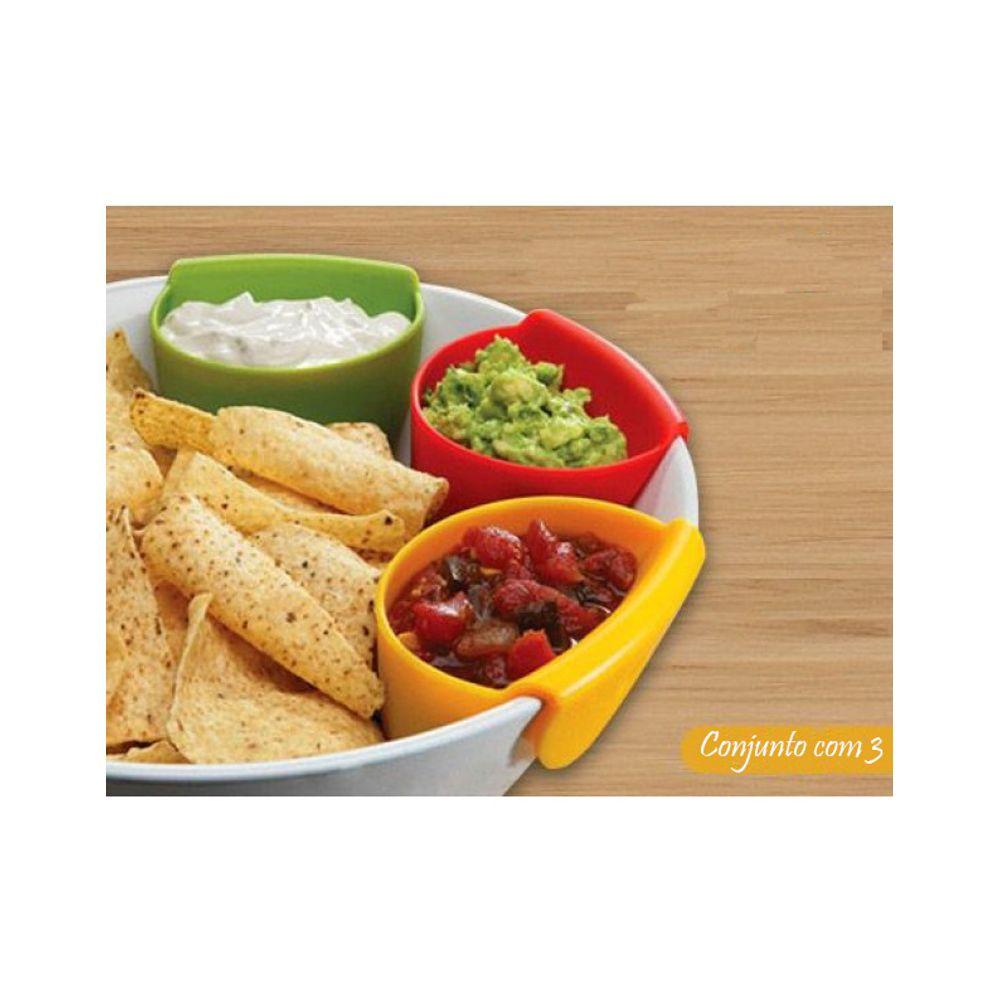 3b0c9ce175 Conjunto Bowls Silicone 3 Peças Basic Kitchen - tapetesdoural