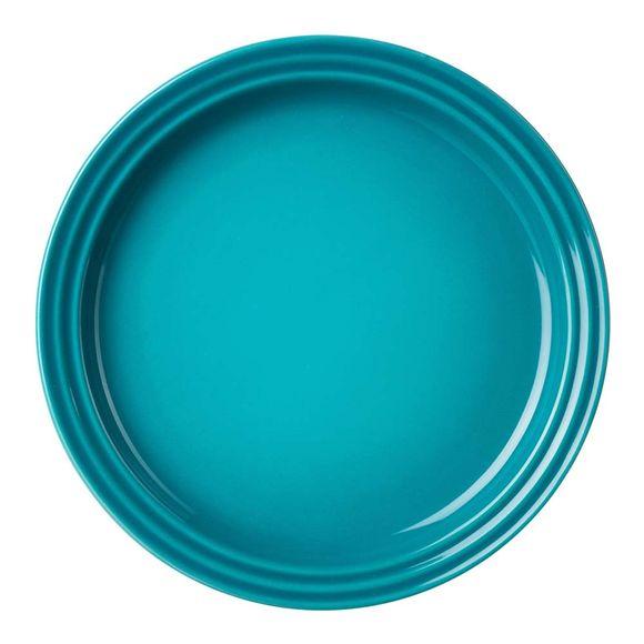 Prato-redondo-23cm-azul-caribe-Le-Creuset