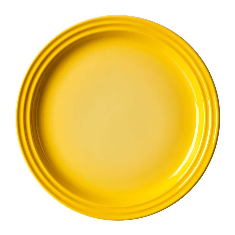 Prato Redondo 23Cm Amarelo Dijon 9101402370  Le Creuset