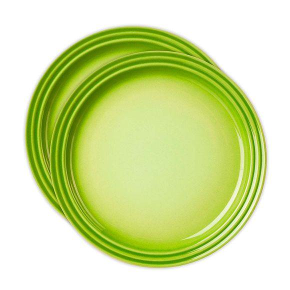 Jogo-2-pratos-redondo-15cm-kiwi-Le-Creuset