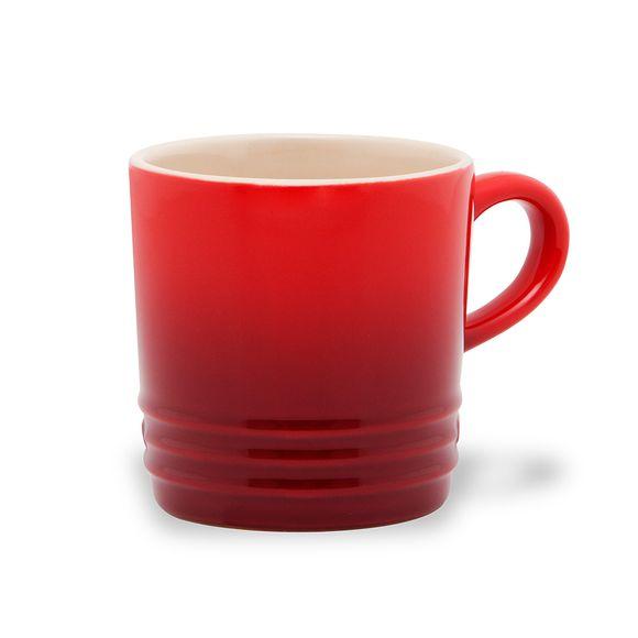 Caneca-de-Ceramica-Le-Creuset-para-Cappuccino-Vermelha