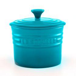 Porta-condimento-pequeno-azul-caribe-Le-Creuset-