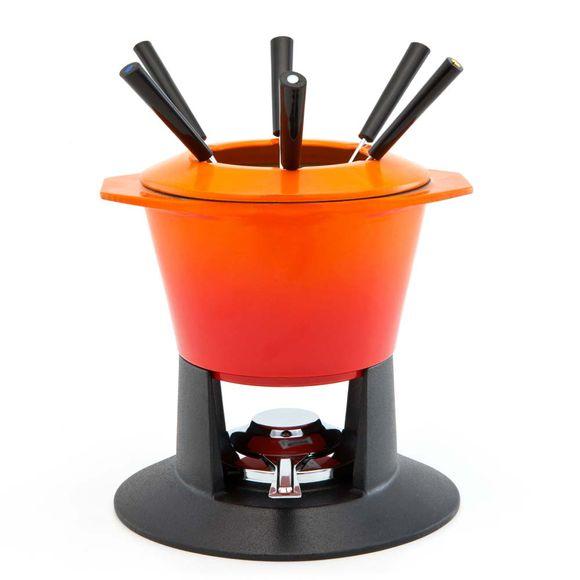 Fondue-Gourmand-em-ferro-laranja-Le-Creuset