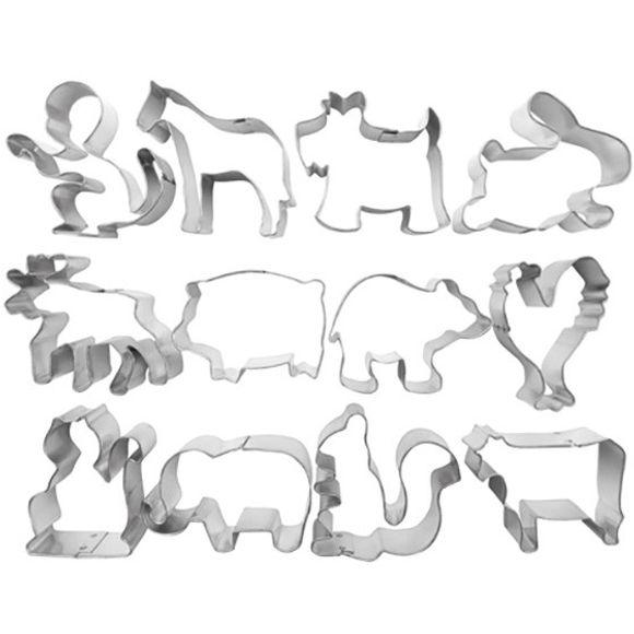 Jogo-12-Cortadores-De-Massa-Animais-Ibili