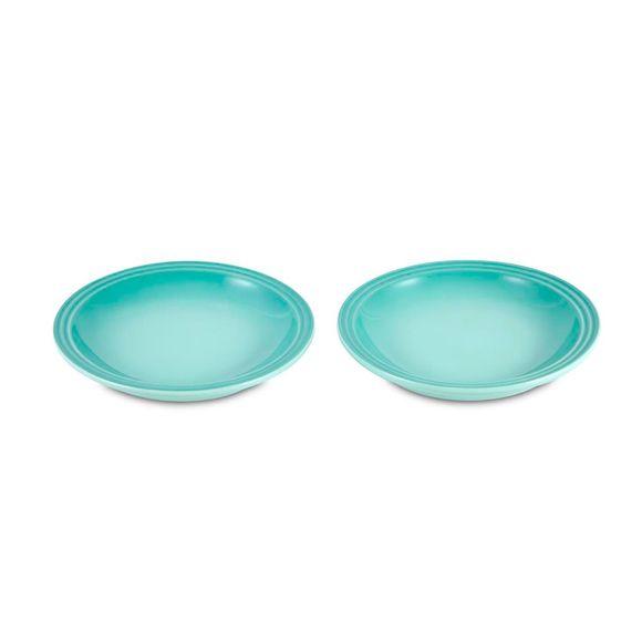 Jogo-2-Pratos-Redondo-15Cm-Cool-Mint-Le-Creuset