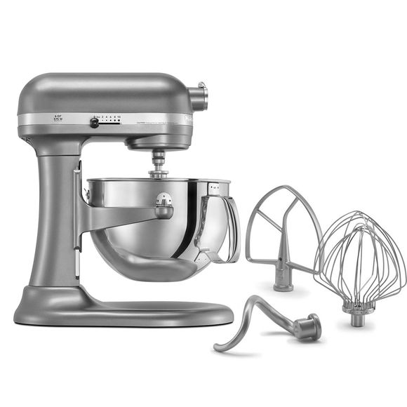 Batedeira-Kitchenaid-Stand-Mixer-Profissional-Silver-220V