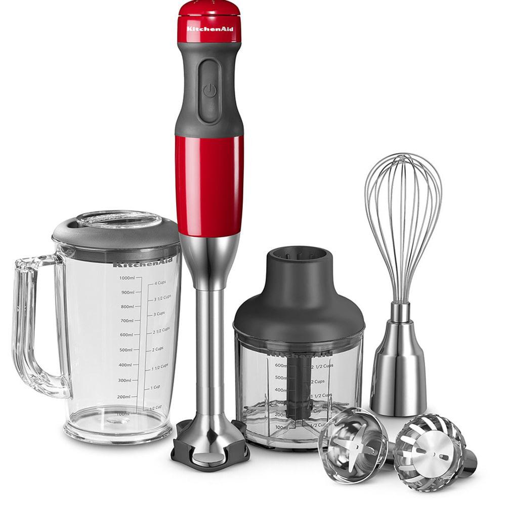 Mixer De Mão Vermelho 110V KitchenAid