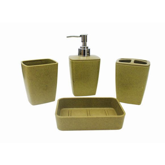Kit-Banheiro-4-Pecas-Verde-Esc-52201-Basic-Kitchen