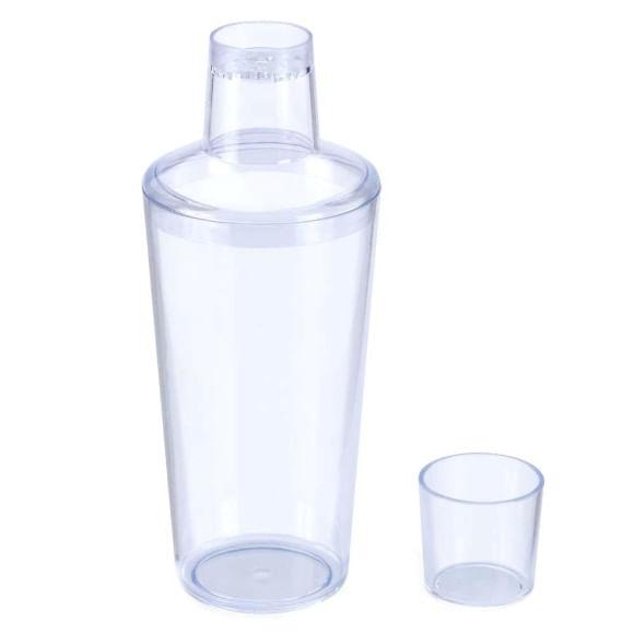 Coqueteleira Com Tampa Em Plástico Translúcida Arthi - 5283