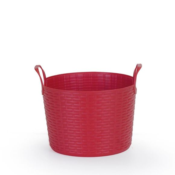 Cesto-Bamboo-Redondo-3l-Vermelho-Arthi
