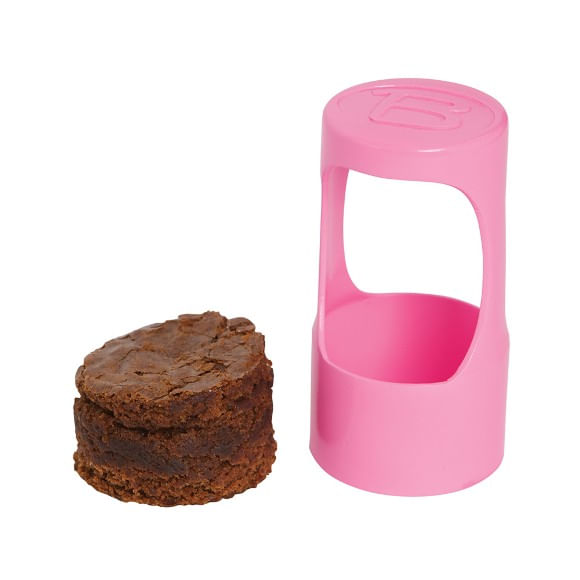 Bakelicious 6 Push Pop Containers 1 Cutter Coração Prana