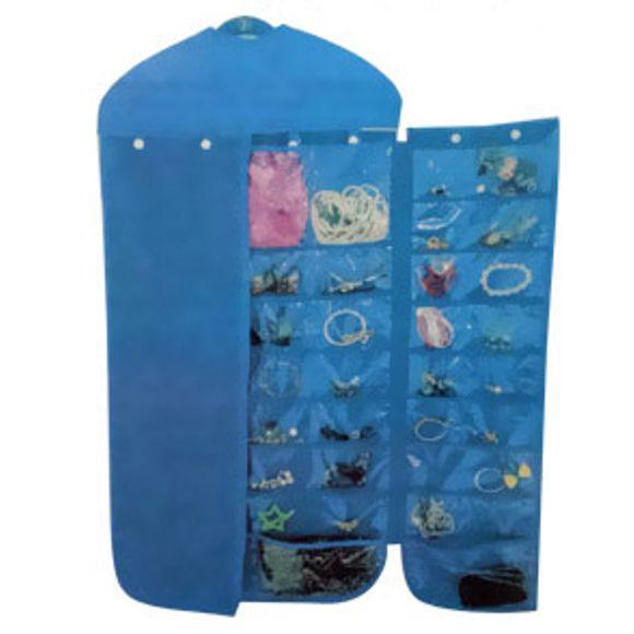 Cabide-Organizador-De-Bijuterias-A227-Azul-Basic-Kitchen