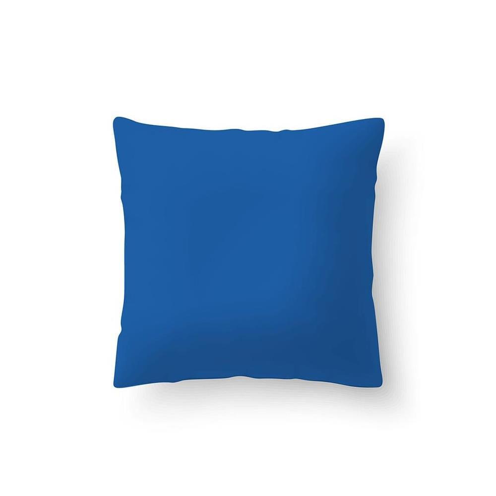 Capa De Almofada Azul 0.40X0.40 Cm Camesa