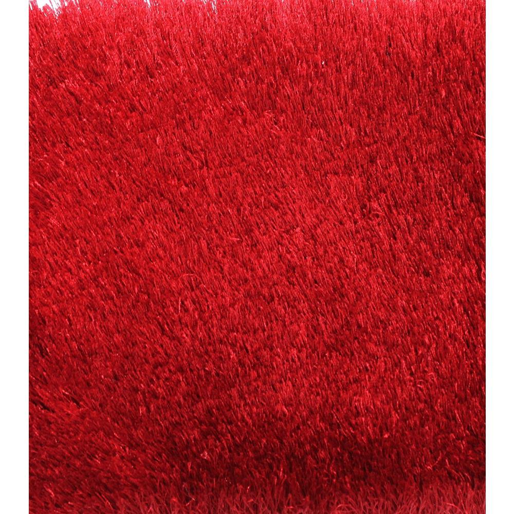 Tapete Chines Silk Shaggy E3 1 40×2 00 Vermelho Doural