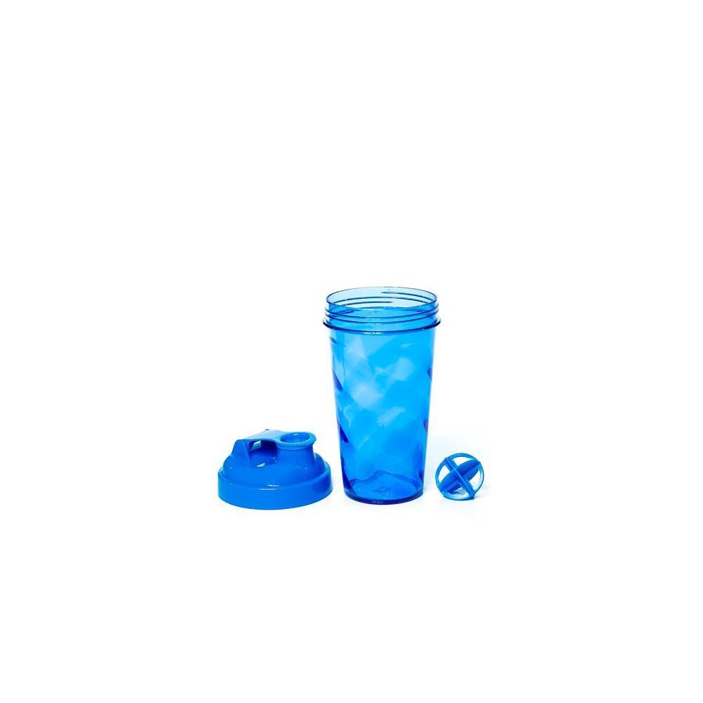 Coqueteleira Azul Com Tampa E Batedor Azul Santic
