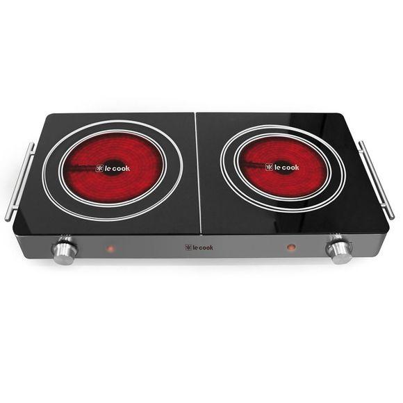 Cook-Top-3.000W-2-Boca-620X298X74Cm-Le-Cook