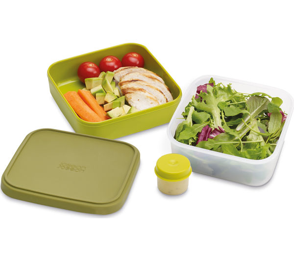 Pote Compacto Para Salada 3X1 Verde
