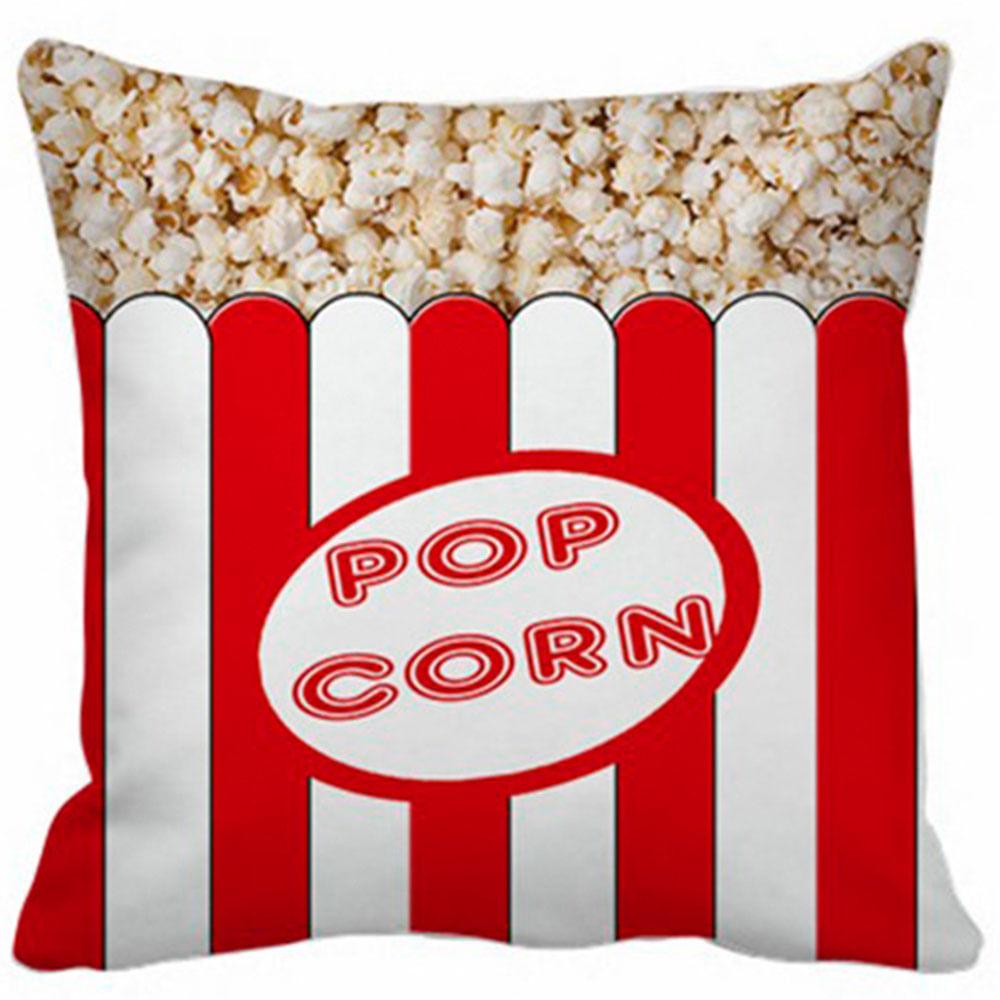 Capa Almofada Pop Corn - 40X40Cm