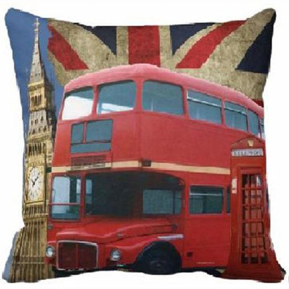 Capa Almofada London - 40X40Cm