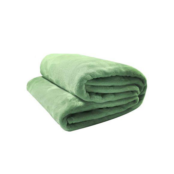Cobertor-de-Microfibra-Velour-Neo-Queen-Verde