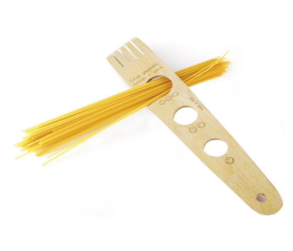 Garfo Medidor Para Spaghetti De Madeira 30Cm Eppicotispai