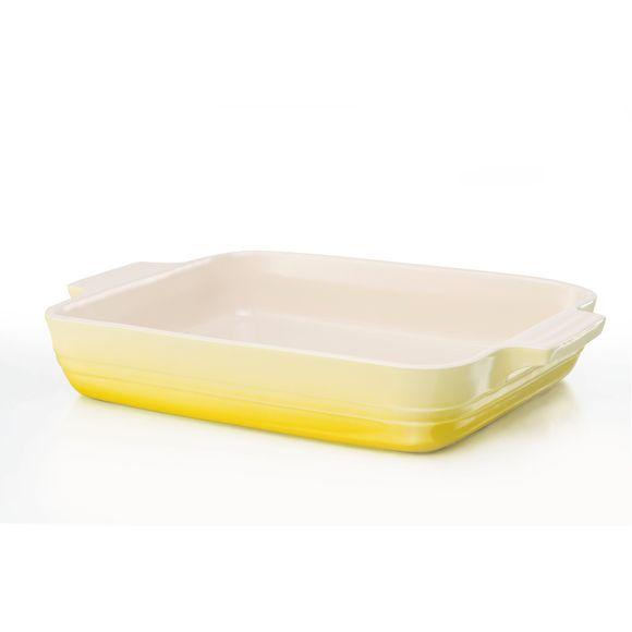 Travessa-Retangular-26Cm-Amarelo-Soleil-Le-Creuset