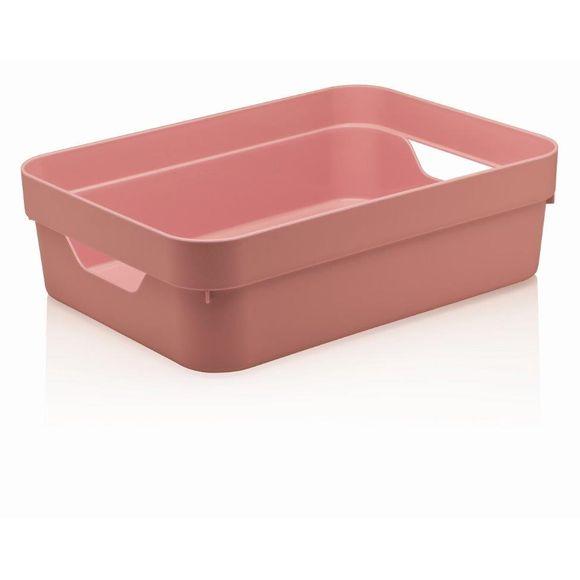 Caixa-Organizadora-Cube-G-Baixa-Sem-Tampa-16-Litros-Rosa-Ou