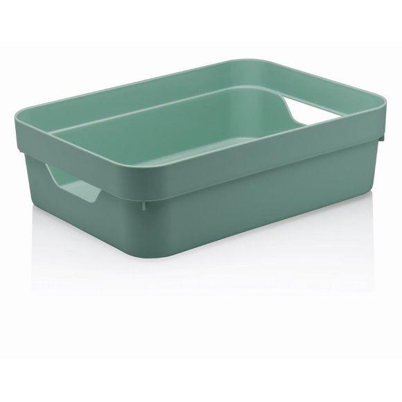 Caixa-Organizadora-Cube-G-Baixa-Sem-Tampa-16-Litros-Verde-Ou