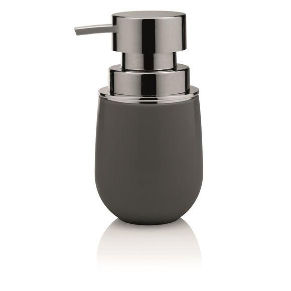 Porta-sabonete-Liquido-New-Belly-Cromo-Chumbo-Ou